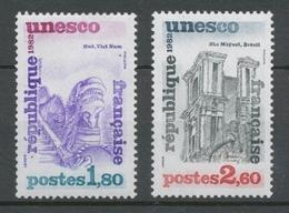 Service N°71-72 Série UNESCO.  2 Valeurs ZS71A - Neufs