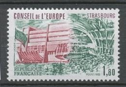 Service N°73 Conseil De L' Europe 1f 80 ZS73 - Neufs
