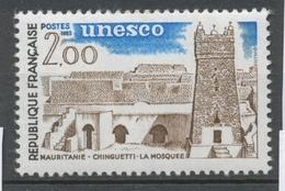 Service N°75 UNESCO Mosquée De Chinguetti - Mauritanie 2f ZS75 - Neufs