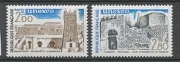 Service N°75-76 Série UNESCO Patrimoine Unniversel 2 Val. ZS75A - Neufs