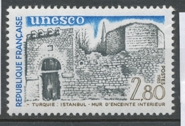 Service N°76 UNESCO Mur D'enceinte Istanbul - Turquie 2f80 ZS76 - Neufs