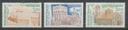 Service N°79-81 Série UNESCO Patrimoine Unniversel 3 Val. ZS79A - Neufs
