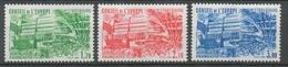 Service N°82-84 Série Conseil Europe Type De 1981  3 Val. ZS82A - Neufs