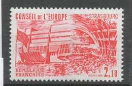 Service N°83 Conseil De L' Europe. 2f.10 Rouge ZS83 - Neufs