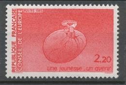 Service N°86 Conseil De L' Europe Pied Chaussé 2f20 Rouge ZS86 - Neufs
