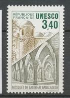 Service N°92 UNESCO Mosquée De Bagerhat - Bangladesh  3f40 Brun Clair, Gris, Vert ZS92 - Neufs