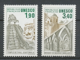 Service N°91-92 Série UNESCO Patrimoine Unniversel 2 Val. ZS91A - Neufs