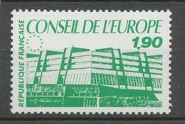 Service N°93 Conseil Europe Bâtiment De Conseil 1f90 Vert ZS93 - Neufs