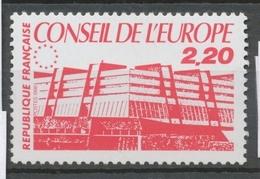 Service N°94 Conseil Europe Bâtiment De Conseil 2f20 Rouge ZS94 - Neufs