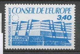 Service N°95 Conseil Europe Bâtiment De Conseil 3f40 Bleu ZS95 - Neufs