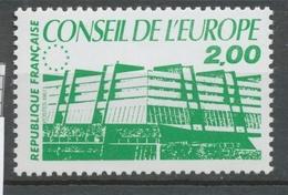 Service N°96 Conseil De L' Europe. 2f. Vert ZS96 - Neufs