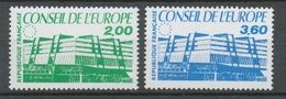 Service N°96-97 Série Conseil De L' Europe.  2 Valeurs ZS96A - Neufs