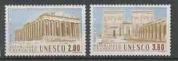 Service N°98-99 Série UNESCO Patrimoine Unniversel 2 Val. ZS98A - Neufs
