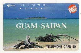 JAPON TELECARTE GUAM - Guam