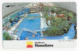 JAPON TELECARTE HAWAII SPA RESORT HAWAIIANS PALMIER - Hawaï