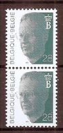 BELGIE * Nr 2473 * Postfris Xx - 1981-1990 Velghe