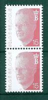 BELGIE  ALBERT II * Nr 2450 P5a * Postfris Xx * GROENE GOM - 1981-1990 Velghe