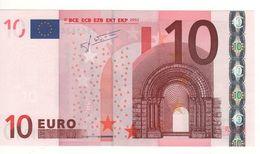 "10 EURO  ""Y""  Greece   Firma Trichet   N 024 G5  /  FDS - UNC - EURO"