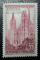 Service N°16 T-P De 1957  Cathédrale De Rouen 35f Neuf** - Mint/Hinged