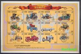 Gambia 1993 Mi 1604-1615 MNH ( LZS5 GMBark1604-1615 ) - Voitures