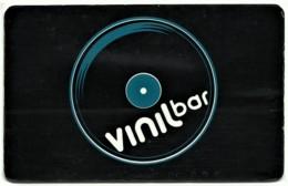 "Vinil Bar - 2,5 € - Card N.º 9056 - Advertising PEPSI & Restaurante O "" Alentejano "" Compadre Beja Portugal - Autres Collections"