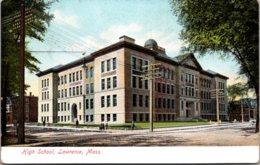 Massachusetts Lawrence High School 1907 - Lawrence