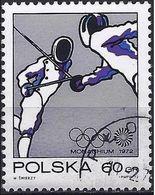 Poland 1972 - Mi 2152 - YT 1998 ( Munich Olympics : Fencing ) - 1944-.... République