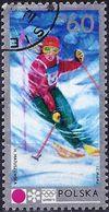 Poland 1972 - Mi 2144 - YT 1990 ( Sapporo Olympics : Women's Slalom ) - 1944-.... République