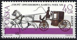 Poland 1965 - Mi 1645 - YT 1496 ( Horse-draw ) - 1944-.... République