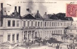 47 - Lot Et Garonne -   AGEN - Incendie De La Prefecture Le 21 Octobre 1904 - Agen