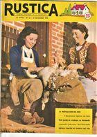 Rare Revue Rustica Du 23 Décembre 1956 - Other