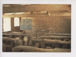 Afrique Burkina Faso - Ecole Village Mossi (cp Vierge) - Burkina Faso