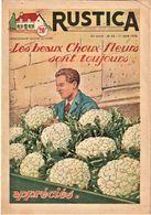 Rare Revue Rustica Du 1er  Juin  1952 - Other