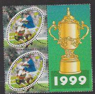 1999-FRANCE N°3280+ 3280a** RUGBY SANS F A ITVF - Nuevos