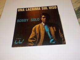 45 TOURS BOBBY SOLO UNA LACRIMA SUL VISO 1964 - Vinyl Records