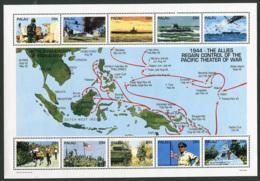 Palau: 1994 - Pacific Theatre In Second World War -  Sheetlet MNH ** - Palau