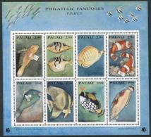 "Palau: 1994 - International Stamp Exhibition ""PHILAKOREA '94"" - Fish -  Sheetlet MNH ** - Palau"