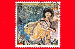 VATICANO - Usato - 1990 - 40º Anniversario Della Fondazione Della Caritas Internazionalis - Abramo - Mosaico - 450 L. - Vatican