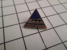 316b Pin's Pins / Rare & Belle Qualité !!! THEME BANQUES / BANQUE CHAIX - Banques