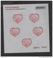 """FRANCE / 2012 / Y&T N° AA 648A ** En Bloc Ou F648 ** : """"Patch D'amour"""" (Feuillet """"Adeline André"""") X 1 - Mint/Hinged"""