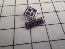 316b Pin's Pins / Rare & Belle Qualité !!! THEME BANQUES / LYONNAISE DE BANQUE - Banques