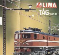 Catalogue LIMA Tåg 1982-83 HO Skaninavisk Upplaga- Ensuédois - Libros Y Revistas