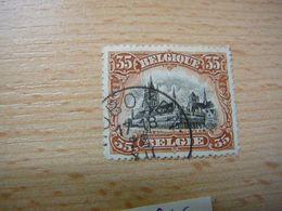 (26.06) BELGIE 1915  Nr 142 Mooie Afstempeling HOBOKEN - Belgium