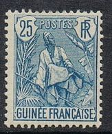 GUINEE N°25 N* - Ungebraucht