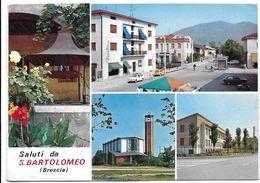 Saluti Da San Bartolomeo (Brescia). Vedutine. - Brescia
