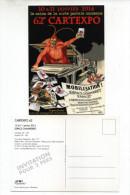 CPM  PARIS 62e CARTEXPO SALON DE LA CARTE POSTALE ANCIENNE DIABLE - Bourses & Salons De Collections