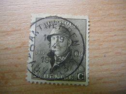 (26.06) BELGIE 1919  Nr 170 Mooie Afstempeling ANTWERPEN-ANVERS - 1919-1920  Cascos De Trinchera