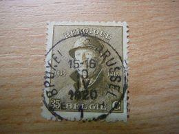 (26.06) BELGIE 1919  Nr 172 Mooie Afstempeling BRUSSEL-BRUXELLES - 1919-1920 Trench Helmet