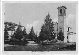 Lestans (Udine). Piazza Della Chiesa. - Udine