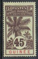 GUINEE N°42 N* - Nuovi